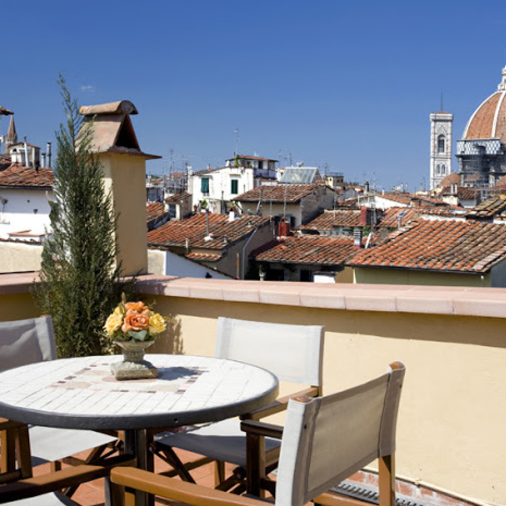 Apartment with panorama in Florence