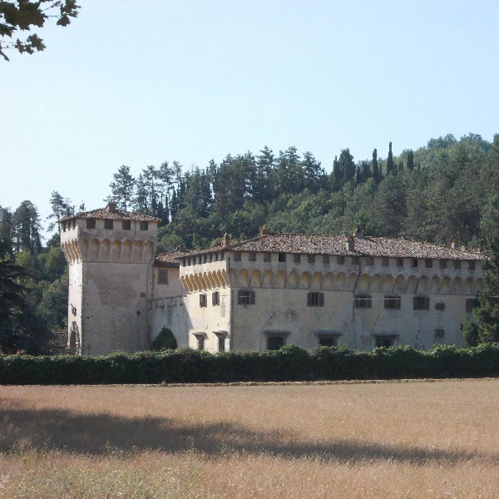 Villa con vista sul Mugello