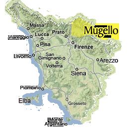 Villa a Vicchio nel Mugello