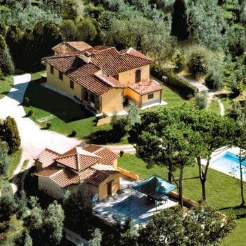 Villa Caruso vicino a Firenze