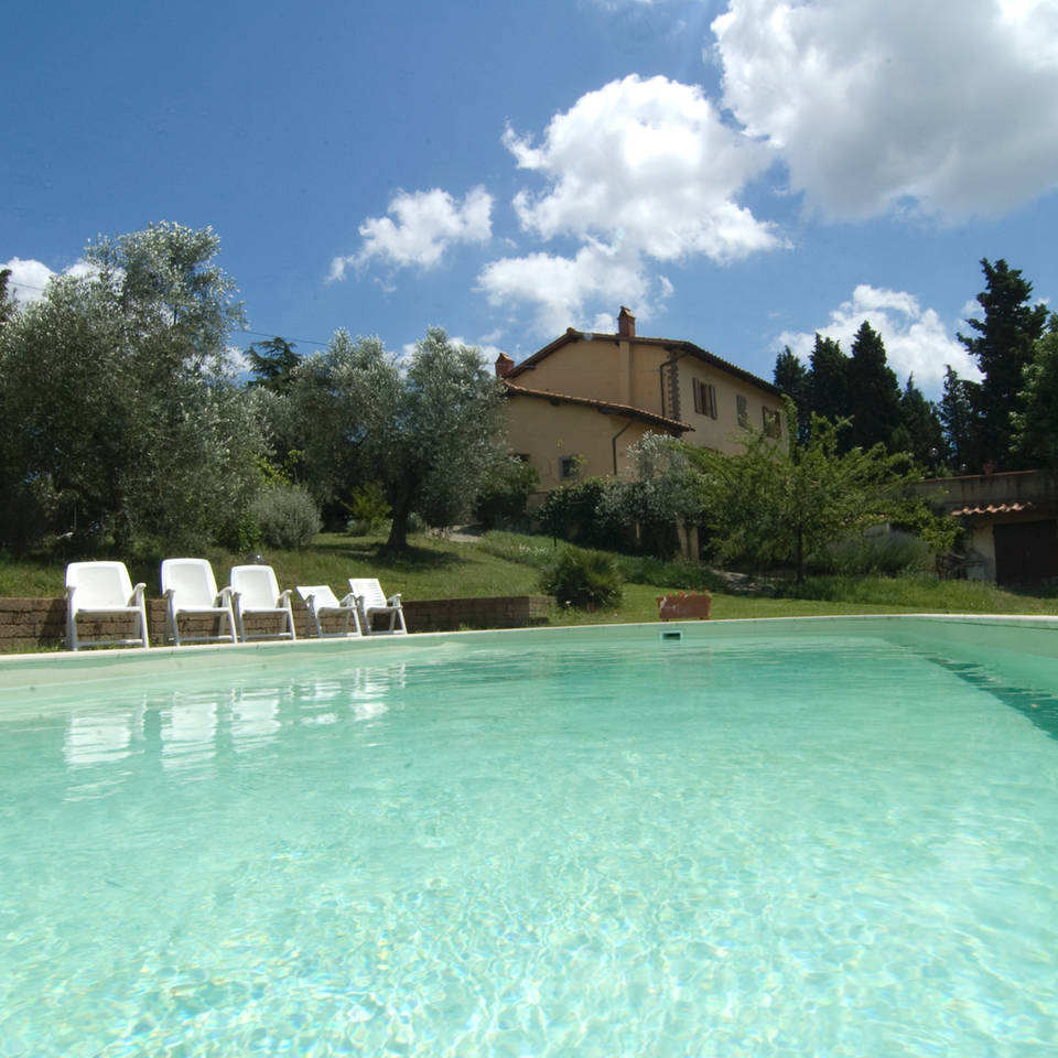 Villa on the hills of Chianti