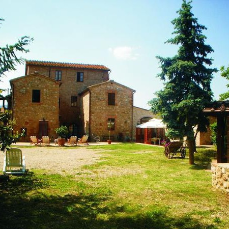 Countryhouse in the countryside near Siena