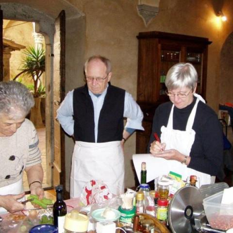 Tuscan Cooking Class in an old Palace