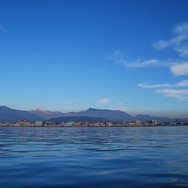 Sailing in Viareggio looking for dolphins