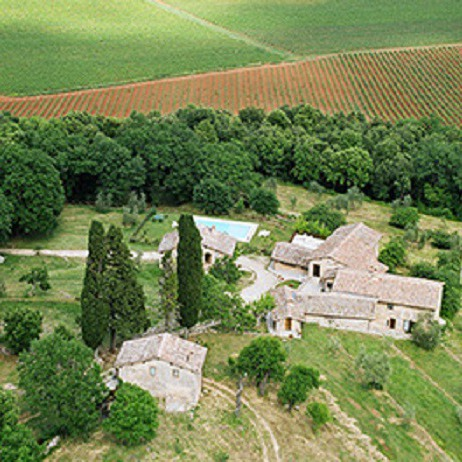 Farmhouse lands of Siena