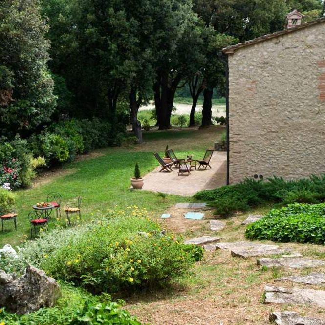Antica villa nella campagna senese