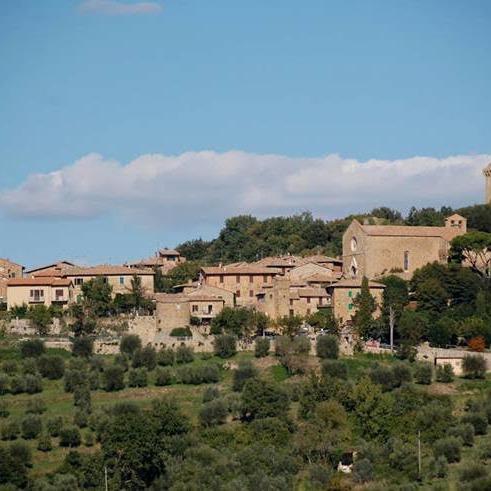 Lussuosa villa in borgo di Pienza