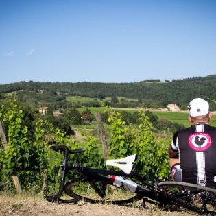Anello del Rinascimento in mountain bike